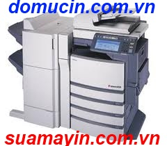sua may photocopy xerox bi vet den doc ban in